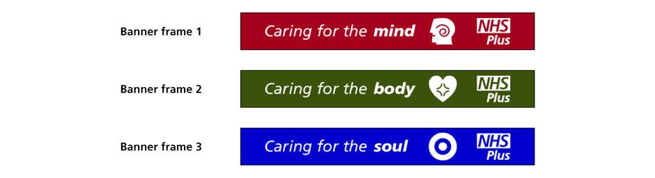 NHS+ Website Banner campaign