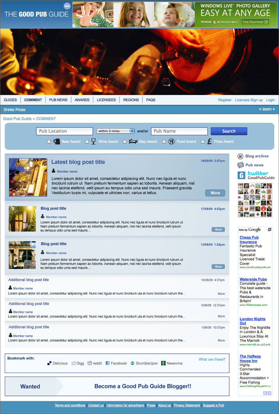 Good Pub Guide Blog Comment Visual